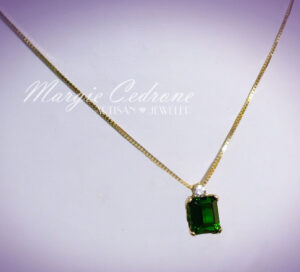 MargieCedrone-GreenStone-GoldChain